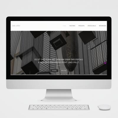 Webdesign für Technologieunternehmen